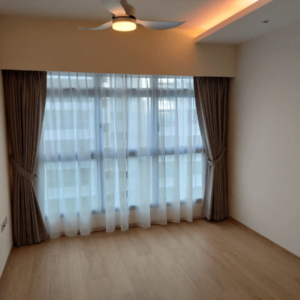 Day Curtain Singapore – Batist White