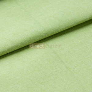 Blackout Curtain - Chevron Lime Green