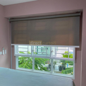 Roller Blinds - Metallic Semi-sheer - Singapore