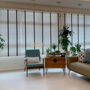 transformation after using pvc venetian blinds to replace curtains in singapore